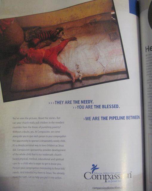 Compassion Ad in Leadership Magazine